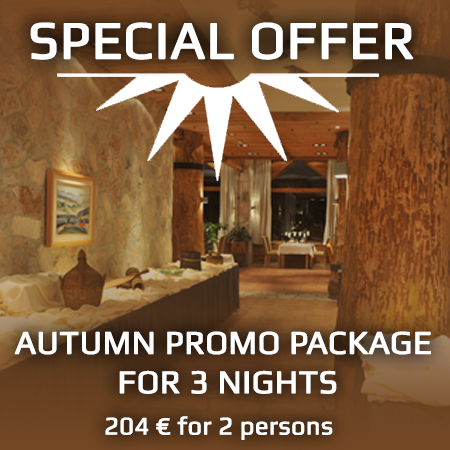 AUTUMN PROMO PACKAGE FOR 3 NIGHTS