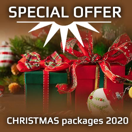 CHRISTMAS packages 2020